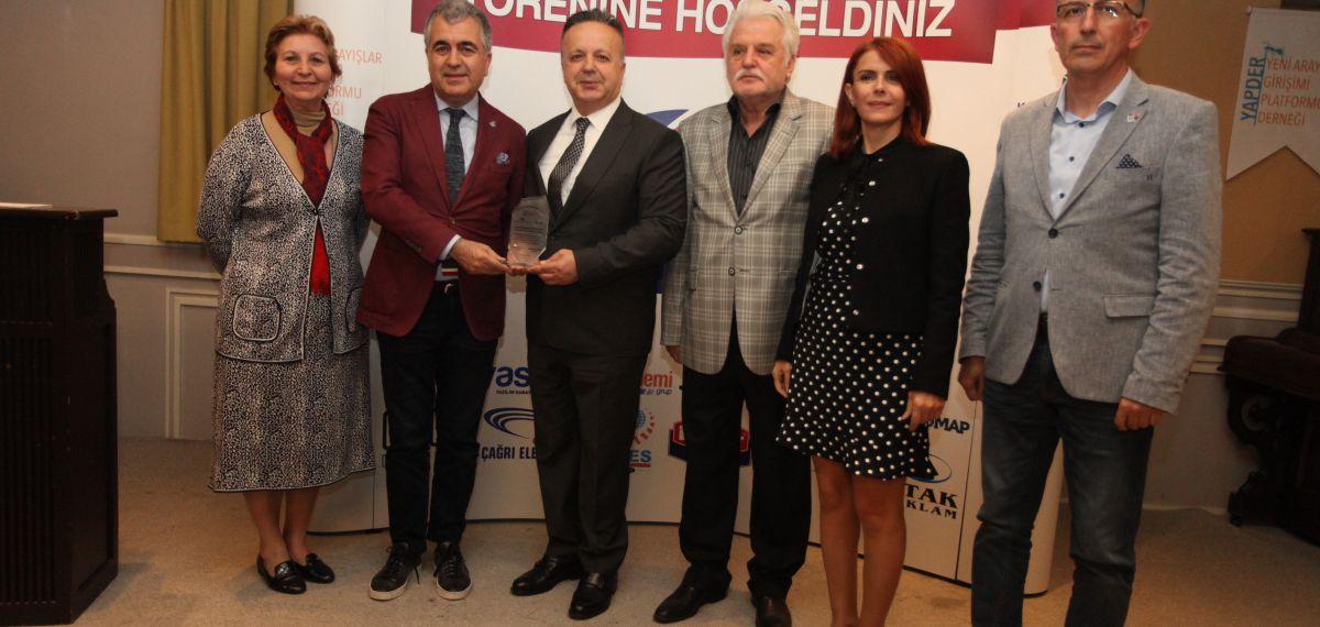 MHGF'nin Anadolu'da yatırım ve istihdam seferberliğine ödül